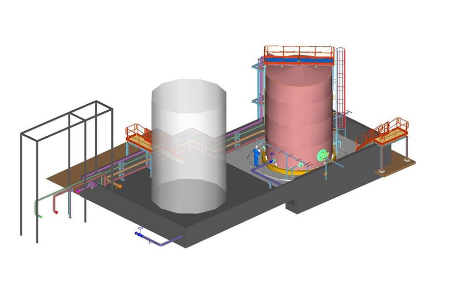 Gestión integral de proyectos industriales: diseño, cálculo y construcción